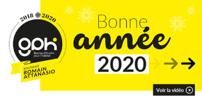 Emailing voeux 2020